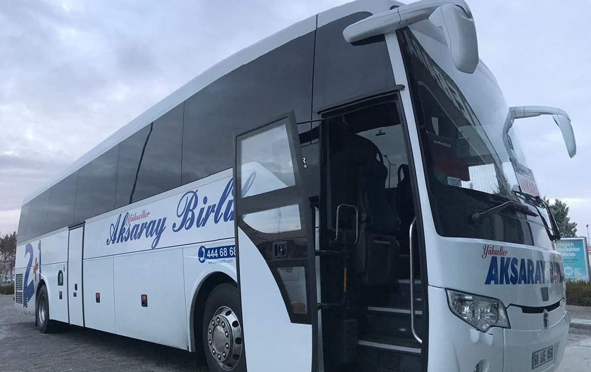 Yükseller Aksaray Birlik Turizm Otobüs Bileti